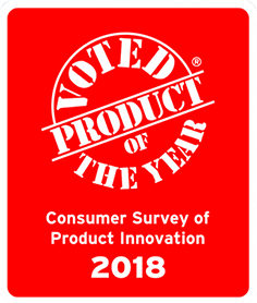Voted Product of the Year02018